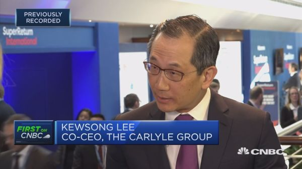Recession in 2019? Carlyle Group's co-CEO says there's enough momentum to avoid one