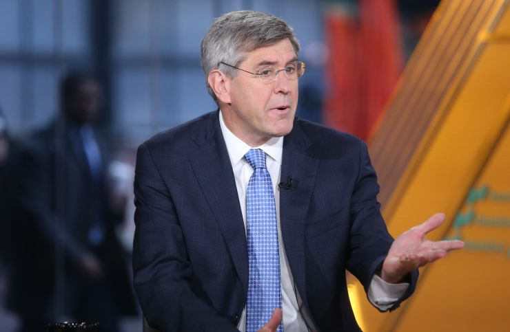 Stephen Moore says the decline in 'male earnings' is a big issue for the economy