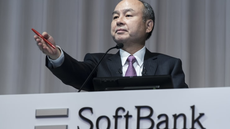 SoftBank loses $12 billion in value on concerns over its big U.S. tech bets